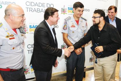 S.Bernardo cria fundo voluntário para apoiar Corpo de Bombeiros