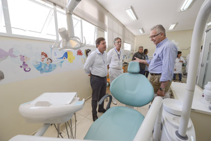 UBS Rudge Ramos, em São Bernardo, ganha três novas clínicas para atendimentos odontológicos