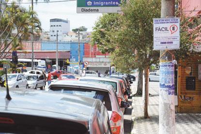 Prefeitura de Diadema moderniza estacionamento rotativo e amplia vagas
