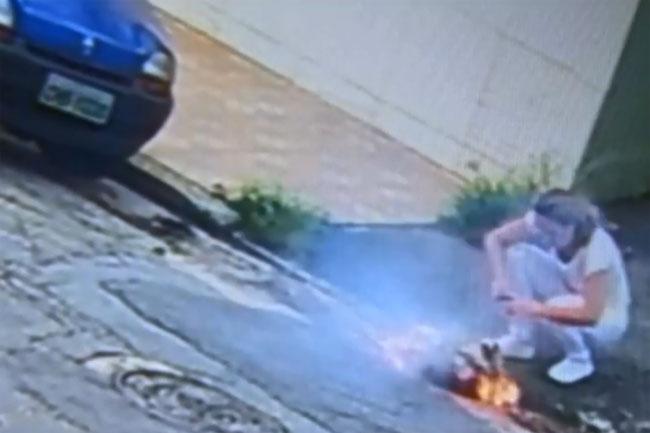 Homem que ateou fogo na ex-mulher é preso em Santo André