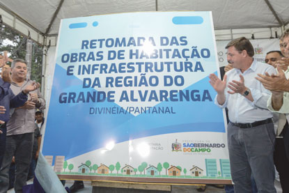 S.Bernardo retoma construção de imóveis no Divinéia Pantanal