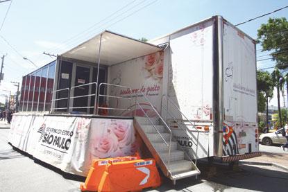 Carreta da Mamografia fica em Mauá até 14 de março
