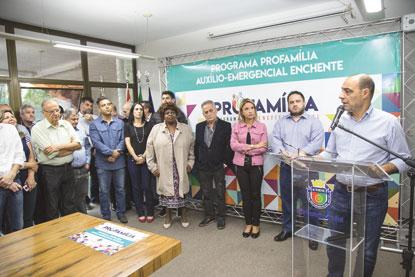 S.Caetano concede R$ 11,8 milhões em isenções e  benefícios a vítimas de enchentes