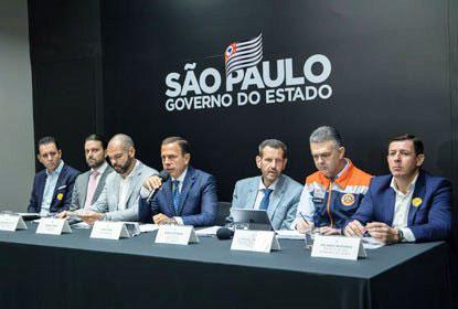 Doria anuncia retomada de projeto do piscinão Jaboticabal