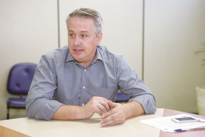 Marcos Michels busca apoio de deputados estaduais para ampliar estrutura da PM em Diadema