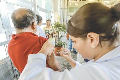 ABC inicia vacinação contra a gripe
