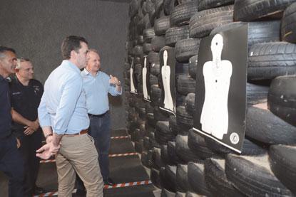 Santo André entrega primeiro estande de tiro do ABC para treinamento da GCM