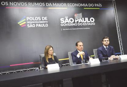 Doria anuncia oito polos de desenvolvimento econômico com pacote de benefícios setoriais para a indústria do ABC