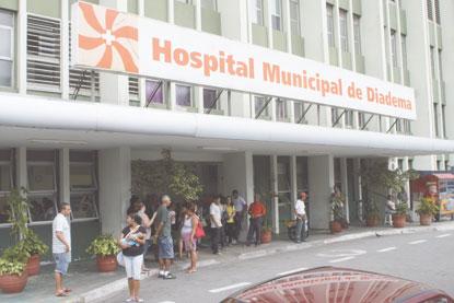 Ministério autoriza Diadema a pleitear verba para o novo Hospital Municipal