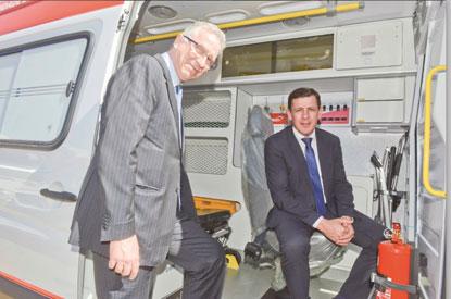 Ministério da Saúde entrega ambulâncias para São Bernardo e S.André