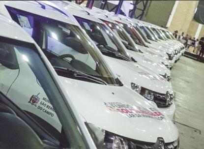 Fundo Social de São Bernardo entrega 25 primeiros carros zero para entidades