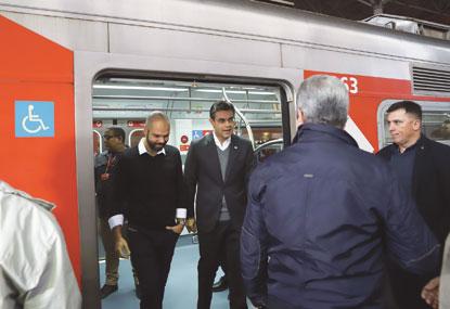 Nova frota  da Linha 10-Turquesa da CPTM entra em circulação
